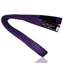 SPIDER INSTINCT Brazilian Jiu Jitsu Belt Purple
