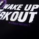 """SPIDER INSTINCT Top Tank """"Wake Up & Workout"""""""