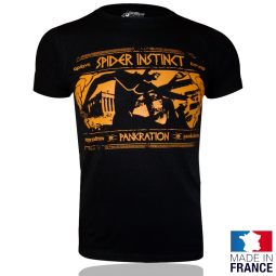 SPIDER INSTINCT Tee Shirt Pankration OS