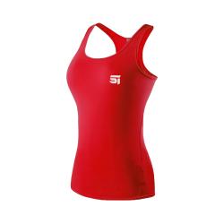 SPIDER INSTINCT Tee shirt Instinct Noir/Rouge