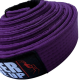 """SPIDER INSTINCT BJJ Belt """"Never Give Up"""" Purple"""